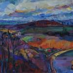 Die Ferne, 2012, Öl auf Leinwand, 80 x 100 cm