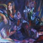 In der Dämmerung, 2011, Öl auf Leinwand, 100 x 125 cm
