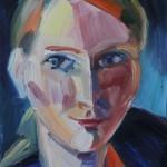 Susanne, 2010, Öl auf Leinwand, 30 x 23 cm
