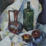 Stilleben mit Krug, 1998, Öl auf Leinwand, 70 x 50 cm