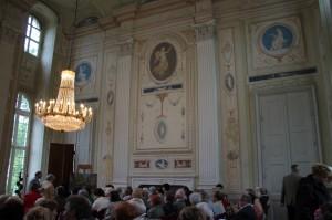 Konzert im Festsaal des Barockschlosses
