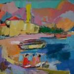 Die Mittagssonne. Adria, 2014, Öl auf Leinwand, 70 x 100 cm