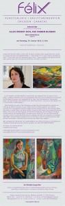 """Ausstellung """"Alles ändert sich, die Farben bleiben"""", von Maria Mednikova"""