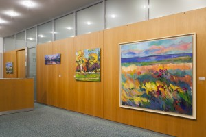 Dresdner Volksbank Raiffeisenbank eG Ausstellung: Maria Mednikova und Olaf Amberg